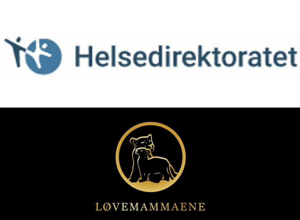 helsedirektoratet, løvemammaene, logo, barnepalliasjon