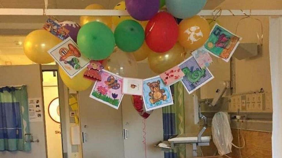 ballonger, sykehus, hjelpestønad