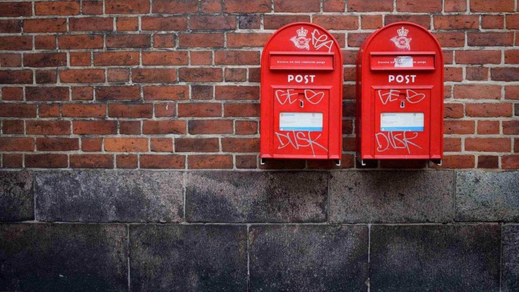 post, brev